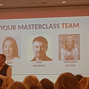 Masterclass team with business ladies of  Cork